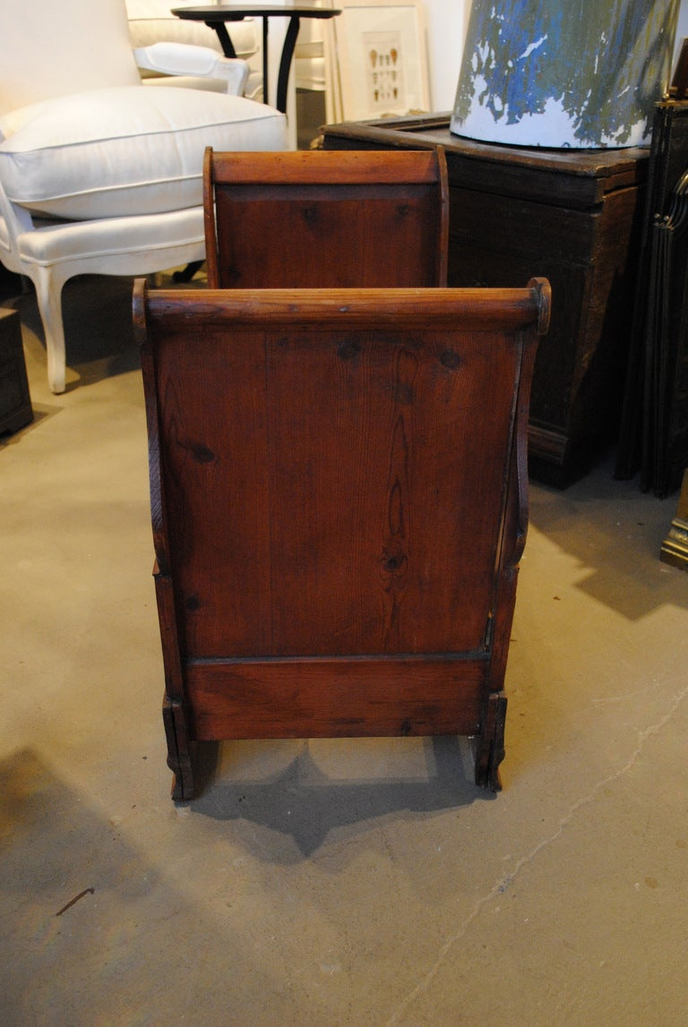 19th Century Dolls or Dog Sleigh Bed For Sale 1