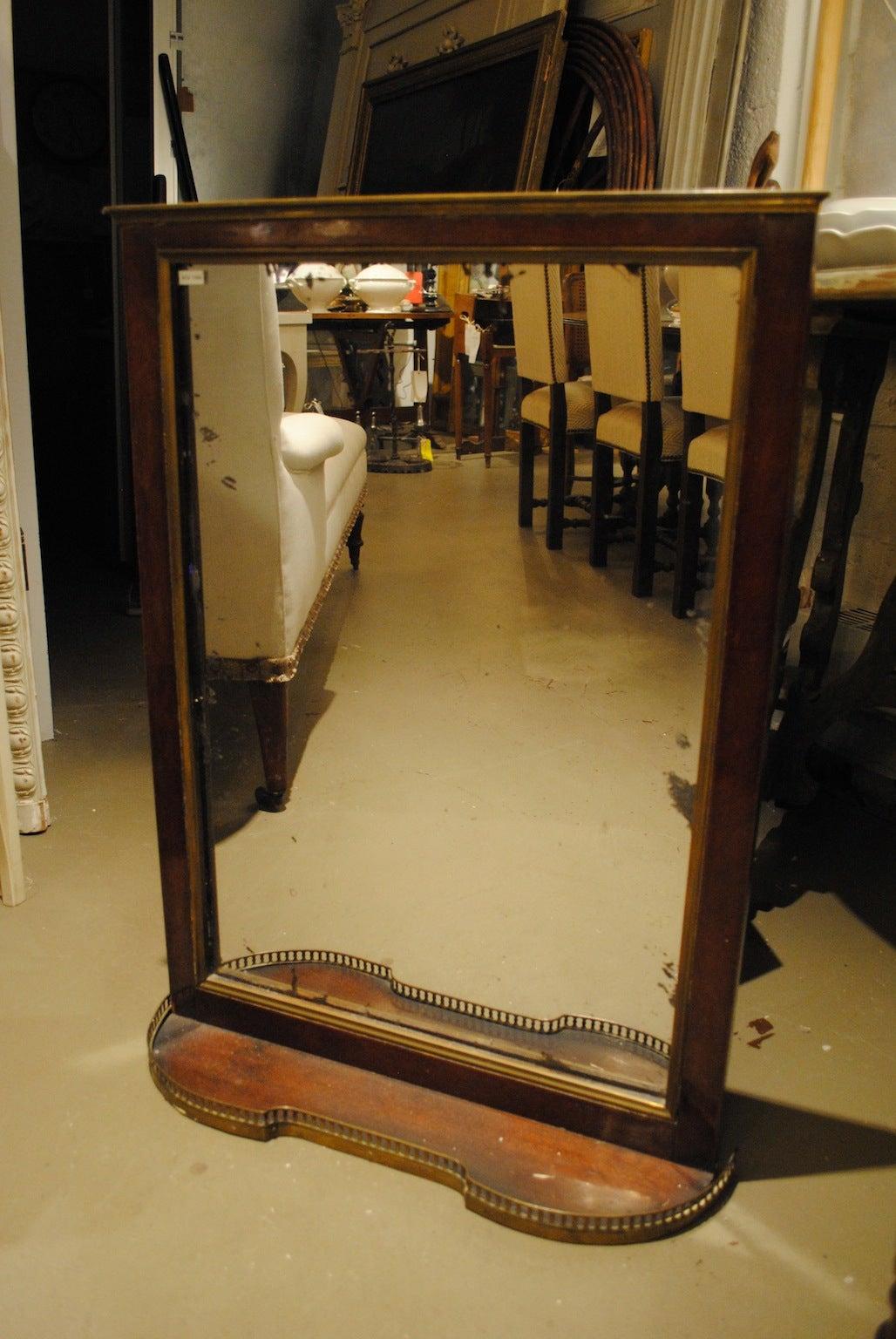 Filigree Mirror with Shelf, circa 1910 at 1stdibs