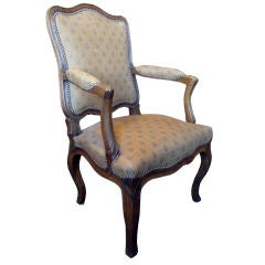 18th Century Period Louis XV Armchair