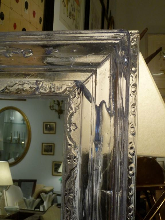 Acrylic Baroque Style Mirror At 1stdibs
