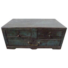 19th Century, Metal Coffer