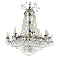 Large Swedish Chandelier