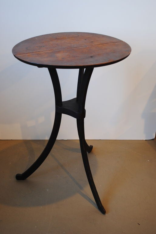18th Century Candle Stand In Good Condition For Sale In Boston, MA