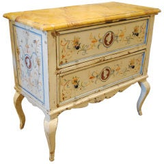 Mid to Late 19th Century Painted Italian Commode