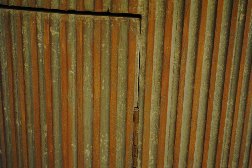 Fluted wood column pedestal w door for sale at 1stdibs - Fluted wood columns interior ...