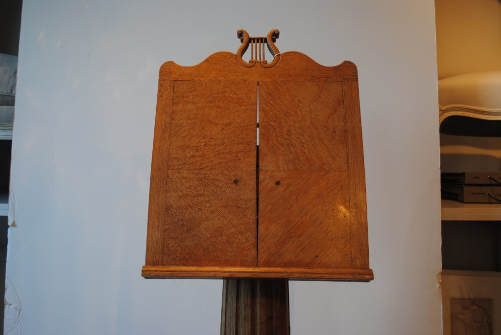 19th Century Oak Music Stand 5