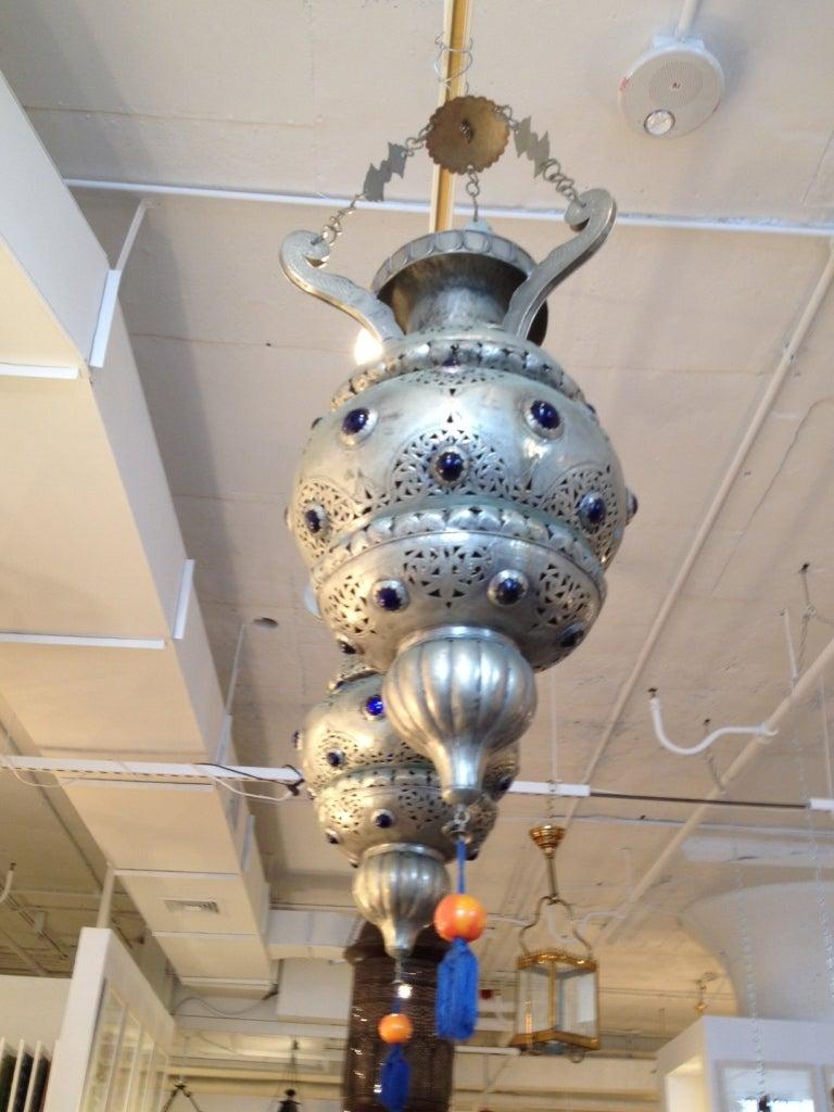 Pair of 19th Century Moroccan Lanterns 3