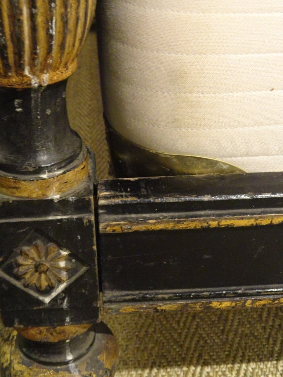Late 18th Century Paint and Gilt Directoire Bed 9
