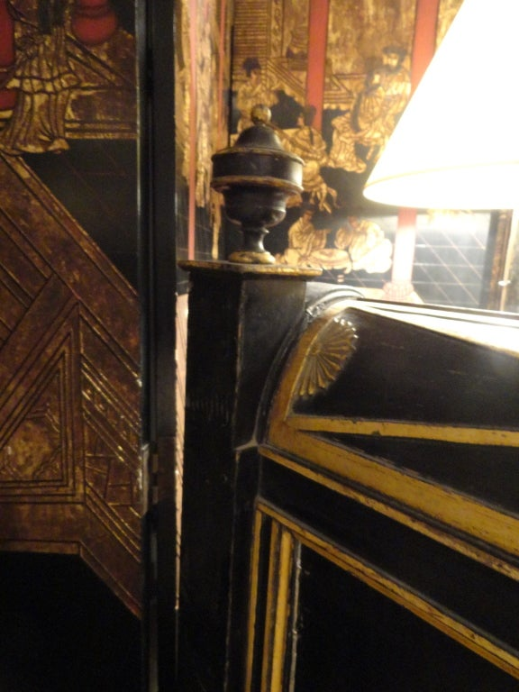 Late 18th Century Paint and Gilt Directoire Bed 8