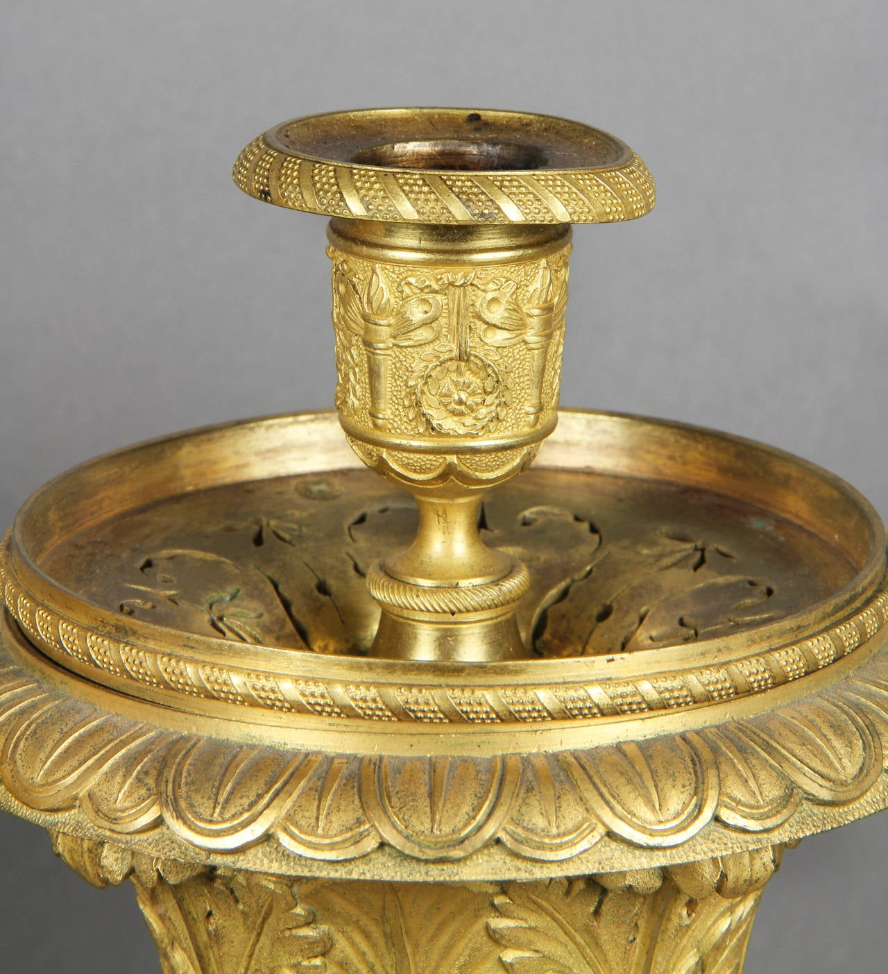 how to clean bronze ormolu