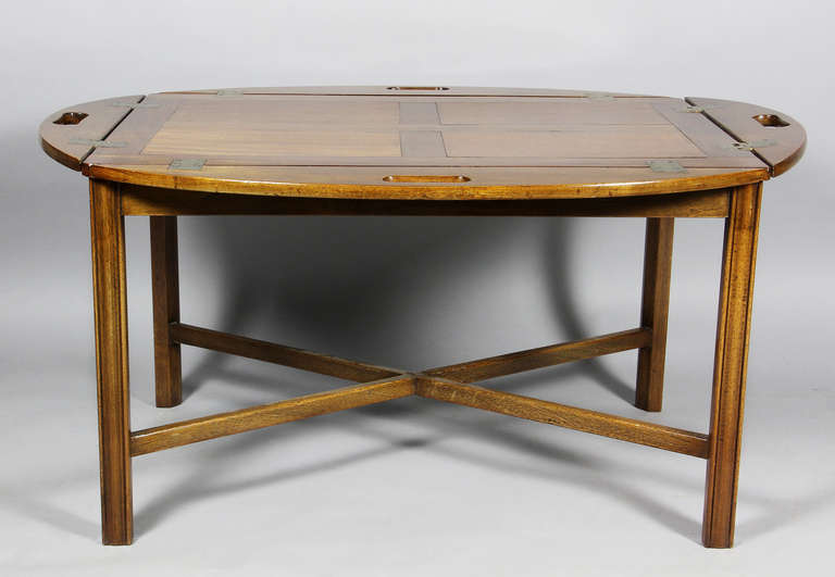 English Mahogany Butlers Tray Coffee Table At 1stdibs