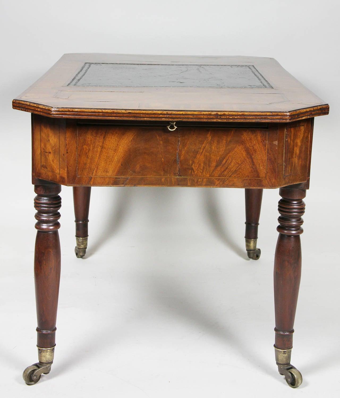 Unusual Regency Miniature Writing Or Coffee Table At 1stdibs