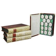 Set of Four Boxed Italian Intaglios