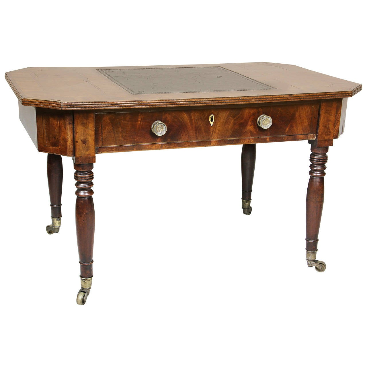 Unusual Regency Miniature Writing Or Coffee Table At 1stdibs