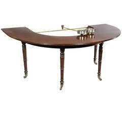 Regency Mahogany Hunt Table