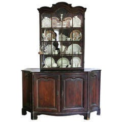 Louis Xv Stained Pine Cabinet