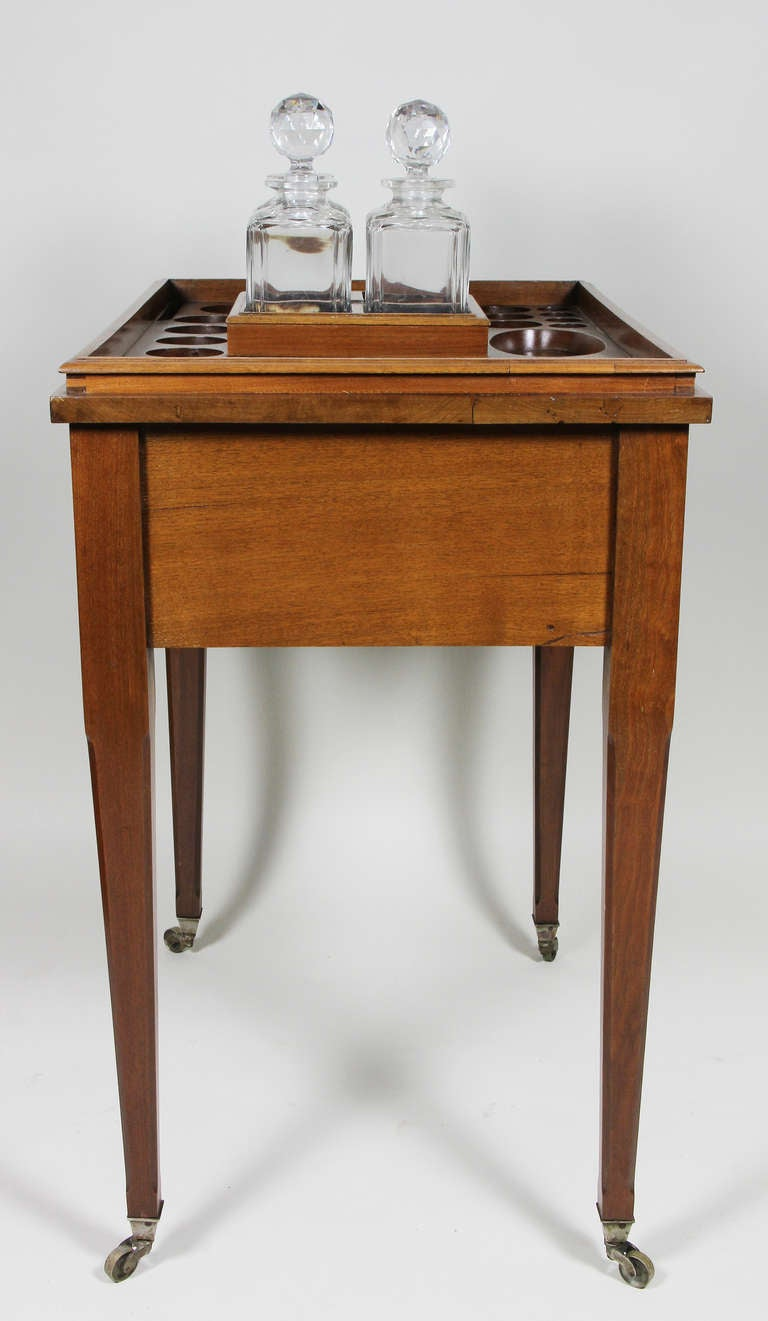 Aspreys London Mahogany Drinks Table For Sale 3