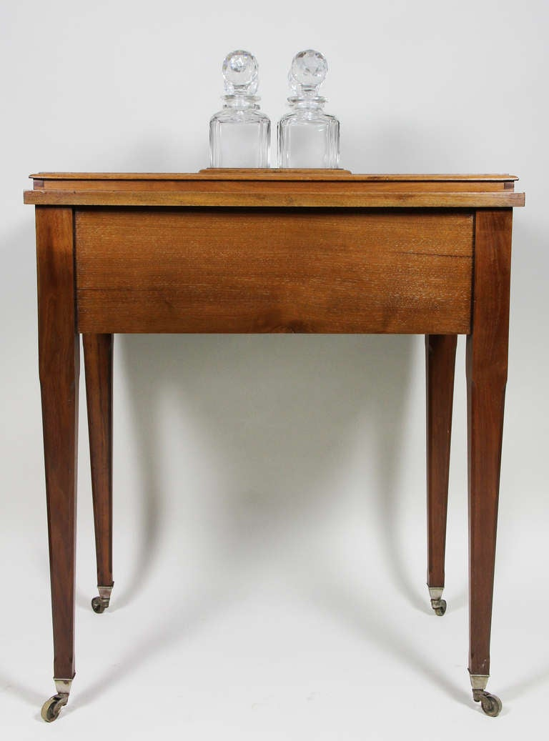 Aspreys London Mahogany Drinks Table For Sale 5