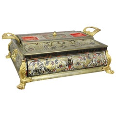 Charles X Boulle and Ormolu-Mounted Inkstand