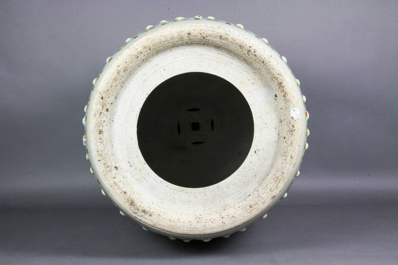 Chinese Export Barrel Form Garden Seat For Sale At 1stdibs