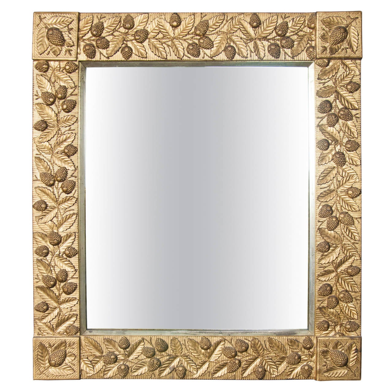 Aesthetic Movement Giltwood Mirror