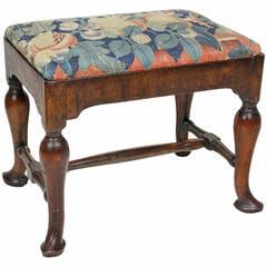 Queen Anne Walnut Bench