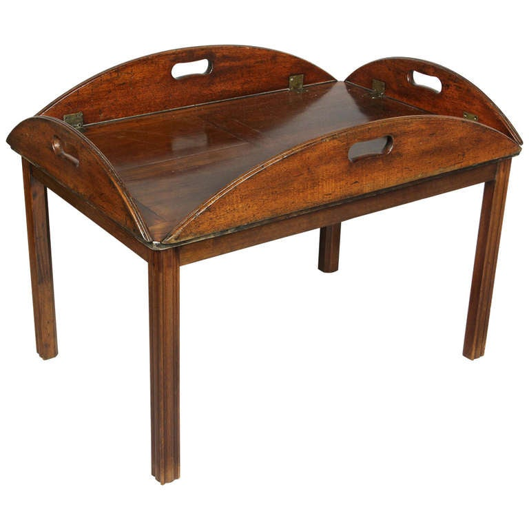 George iv mahogany butlers tray table at 1stdibs Butler coffee tables