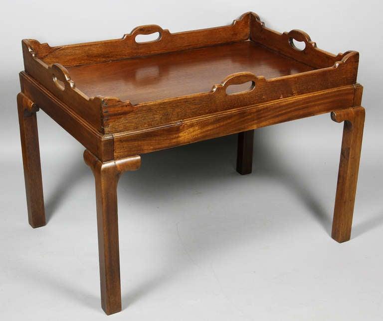 Georgian Mahogany Butlers Tray Coffee Table At 1stdibs