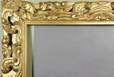 Large Italian Baroque Style Giltwood Frame image 3