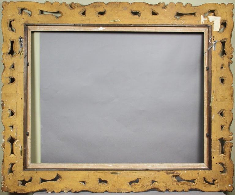 Large Italian Baroque Style Giltwood Frame 5