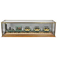 "Finely Detailed Model Of Steam Locomotive "" The De Witt Clinton """