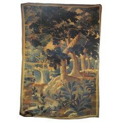 Flemish Verdure Tapestry Fragment