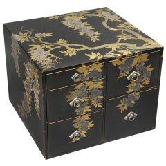 Japanese Lacquer Jewelry Box