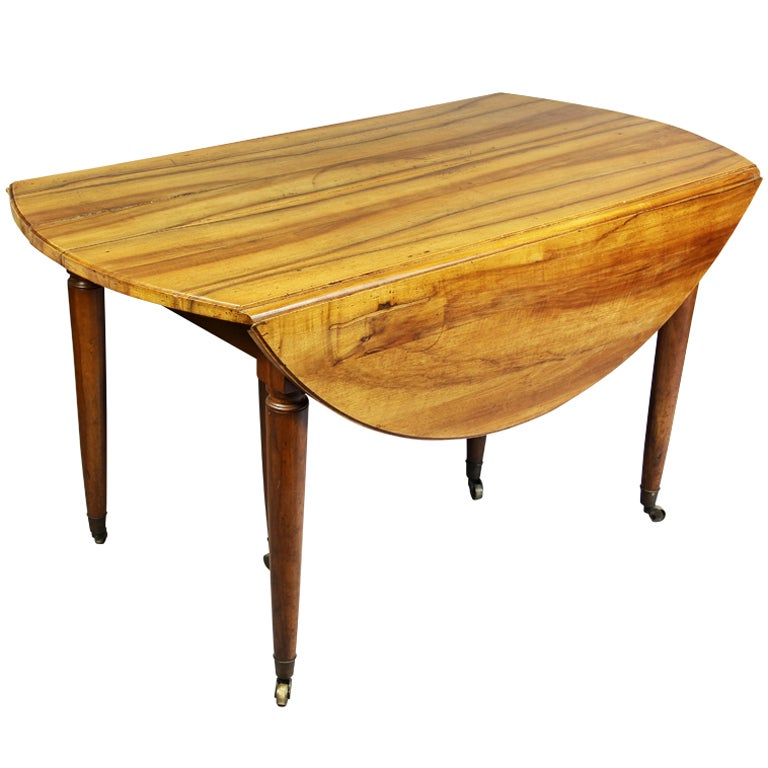 Provincial Walnut Dining Table At 1stdibs