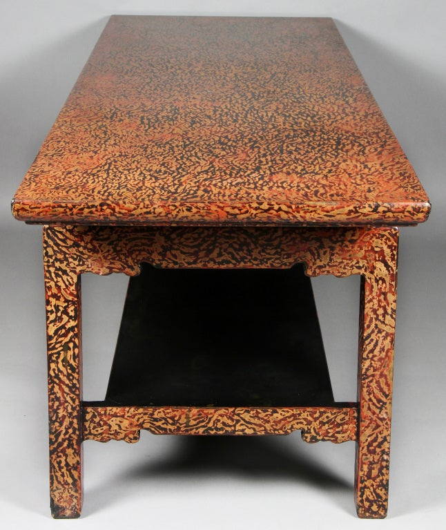 Japanese Lacquer Coffee Table At 1stdibs