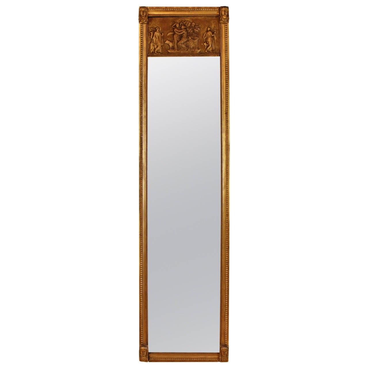 French empire trumeau mirror at 1stdibs for French mirror