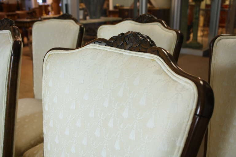 Set of Six Louis XV Style Dining Chairs 4