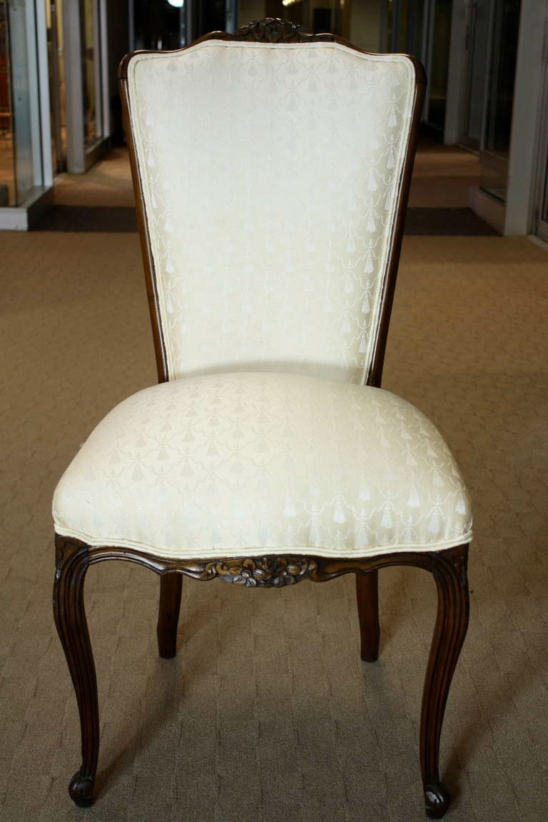 Set of Six Louis XV Style Dining Chairs 5