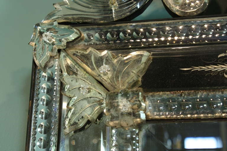 Venetian Pareclose Mirror with Bevelled Glass 6