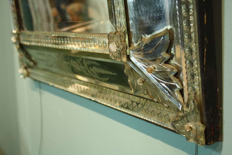 Venetian Pareclose Mirror with Bevelled Glass 9
