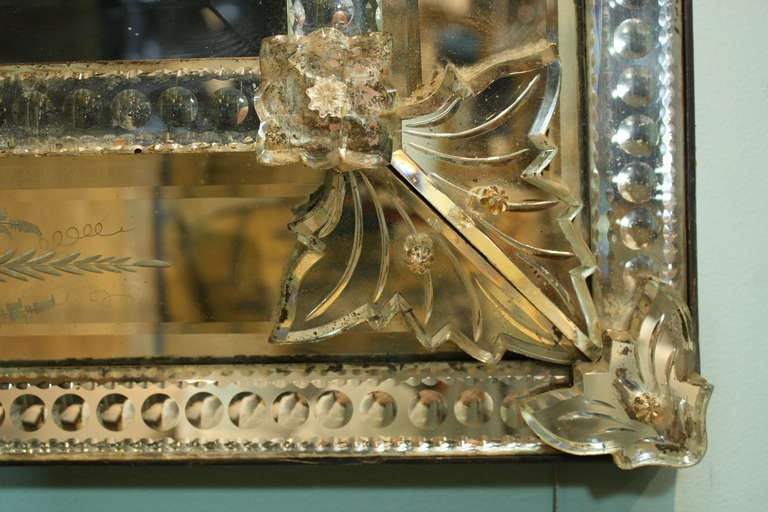 Venetian Pareclose Mirror with Bevelled Glass 10