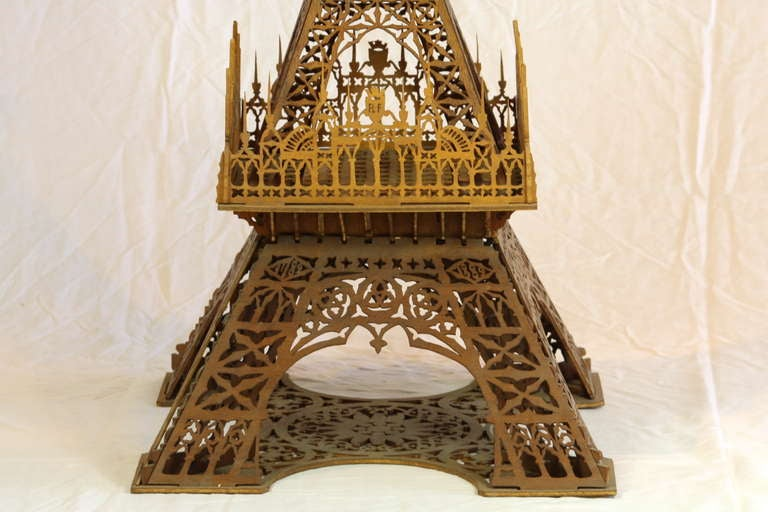 French Eiffel Tower Model