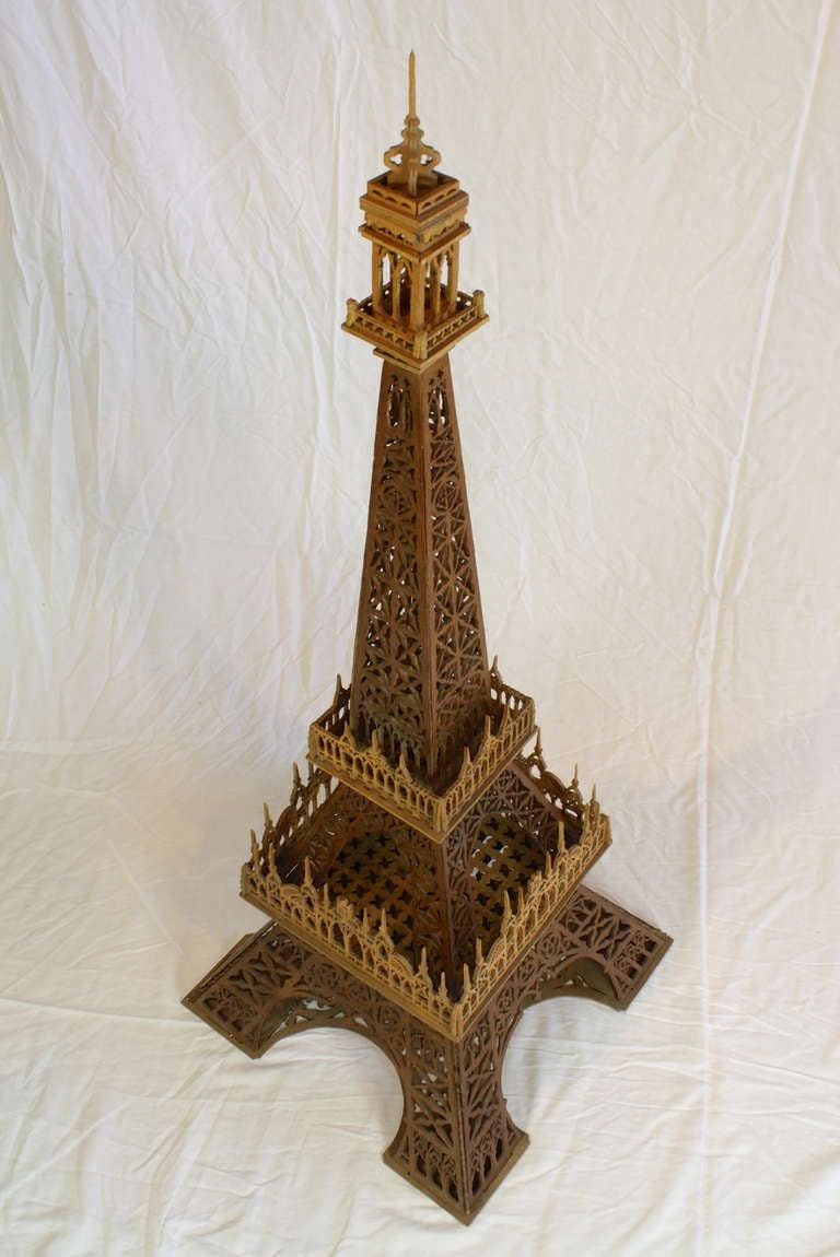 Victorian Eiffel Tower Model