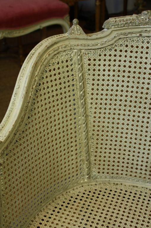 French Louis XVI Style Fauteuil de Bureau For Sale 6