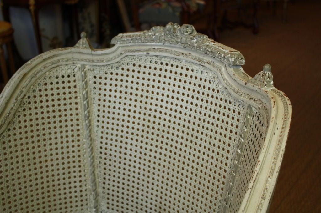French Louis XVI Style Fauteuil de Bureau For Sale 1