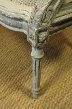 French Louis XVI Style Fauteuil de Bureau image 7