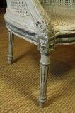 French Louis XVI Style Fauteuil de Bureau image 9