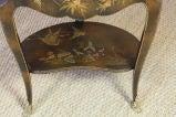 French Napoleon III Painted Side Table image 10