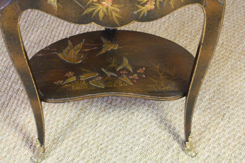 French Napoleon III Painted Side Table 10
