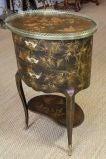 French Napoleon III Painted Side Table image 6